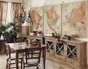 dining with travel map